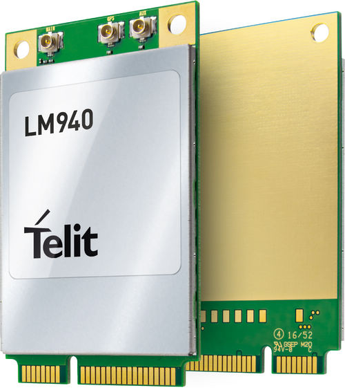 泰利特发布业界首款支持LTE Advanced Cat 11的 LTE迷你PCIe卡