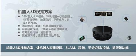 """奥比中光:以3D深度摄像头拯救""""智障""""机器人"""