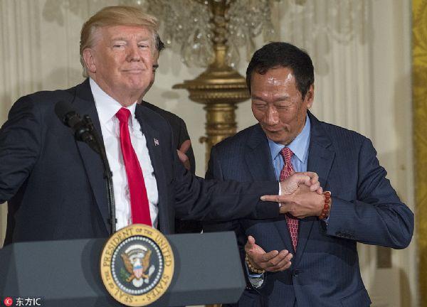都是外资:中国OLED PK美国液晶
