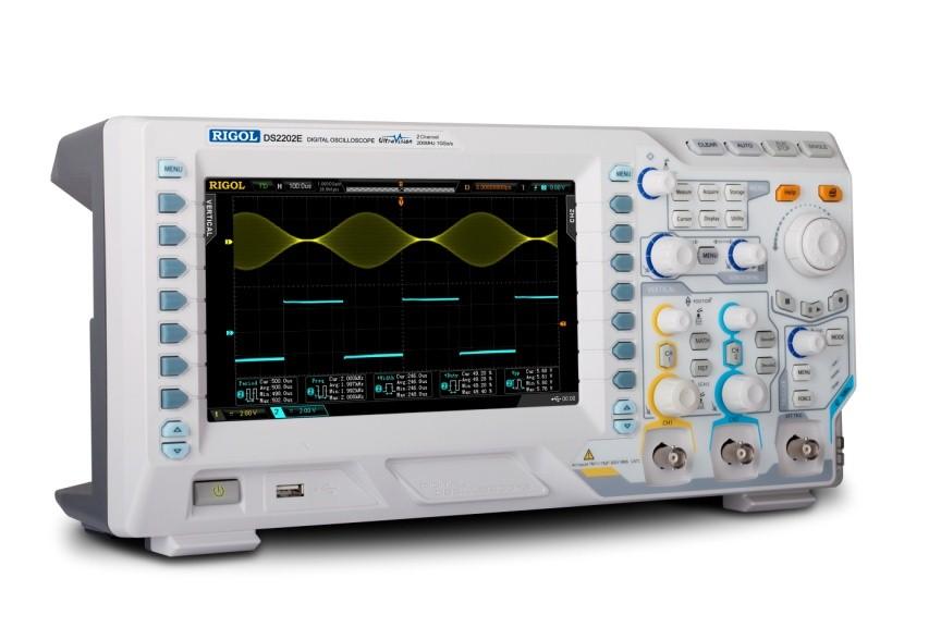 RIGOL推出DS2000E系列经济型示波器