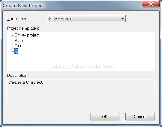 stm8s开发(一) 使用IAR新建工程