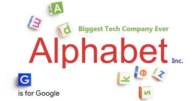 Alphabet完成重组:旗下的谷歌被降低两级