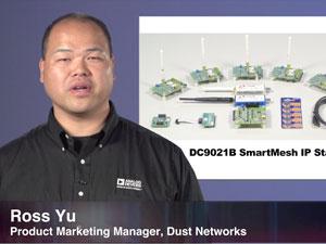 SmartMesh IP 无线传感器网络入门套件