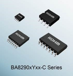 """全球首发※!ROHM开发出无需抗噪音干扰设计的汽车运算放大器""""BA8290xYxx-C系列"""""""