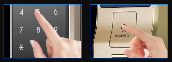 指纹解锁用了这么久你会接受它用到防盗门上吗?