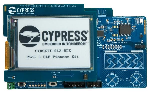 Cypress Semiconductor PSoC 6 BLE Pioneer 套件现已入库 Digi-Key;客户预订订单陆续发货中