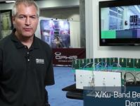 X/Ku频段波束赋形器演示