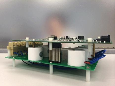 【基于ADSP-CM408F配网自动化解决方案的主板+互感器板】