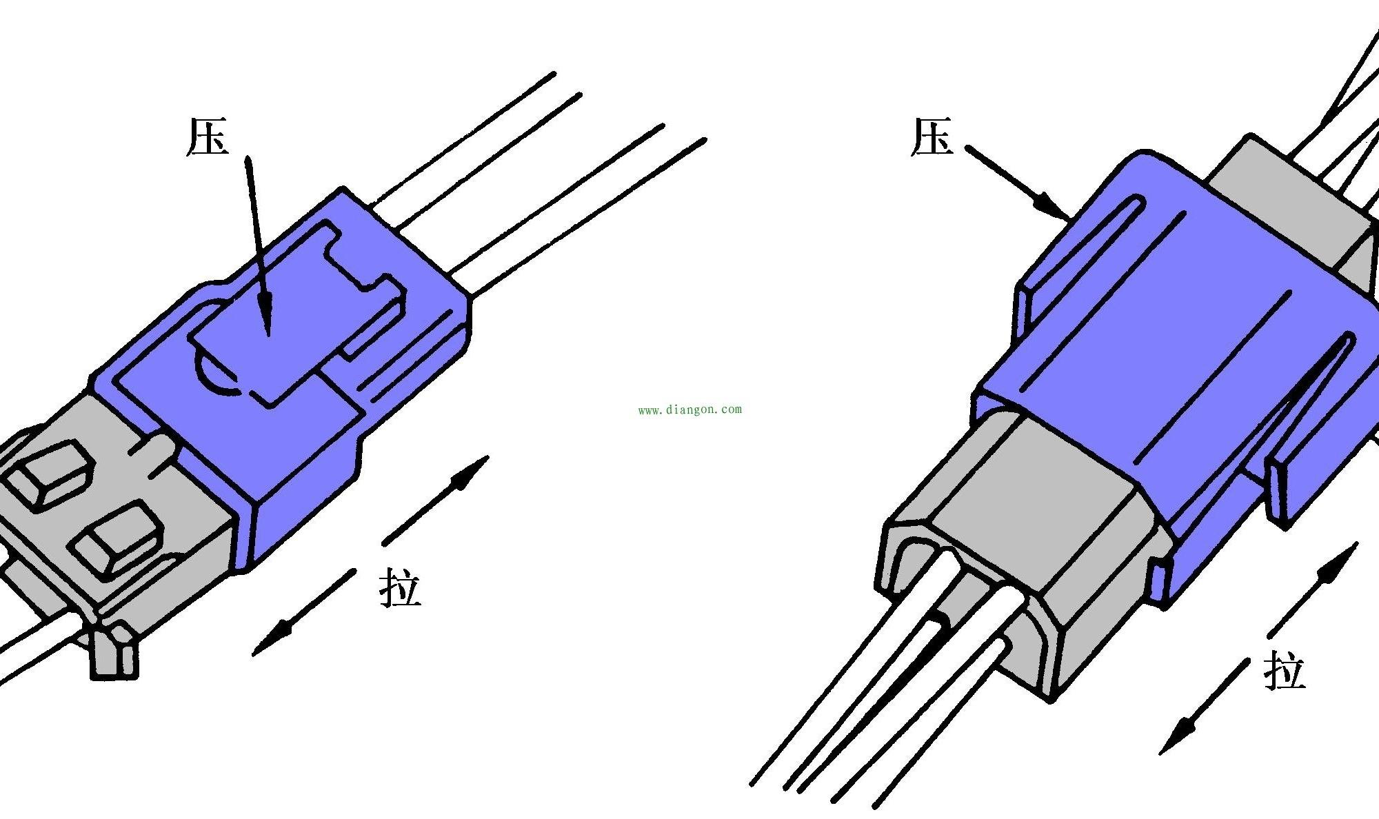 常见的汽车电路基本元件认识