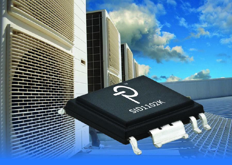 Power Integrations推出全新5A峰值电流门极驱动器, 可降低系统复杂度及成本