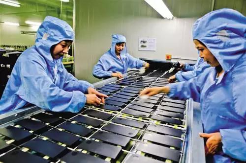 从笔记本和汽车到智能手机 重庆三大电子产业