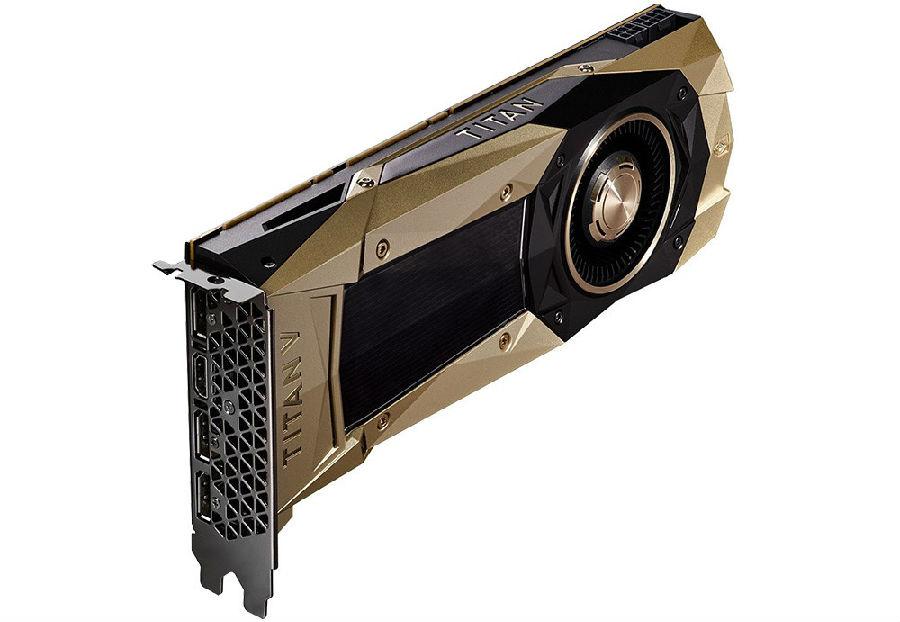NVIDIA 发布TITAN V GPU,将PC变身AI超级计算机