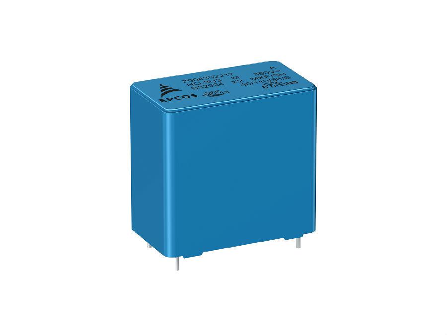 薄膜电容器:更高耐压的工业级X2电容器 额定电压为350 V AC