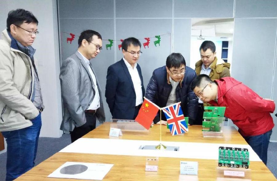 中国中车技术专家莅临青铜剑科技考察交流