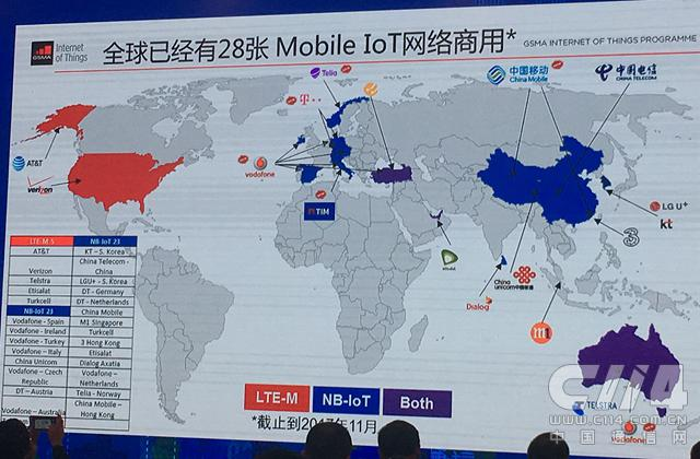 GSMA:中国已成为NB-IoT应用创新最活跃市场