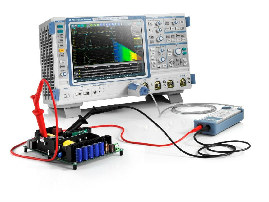 罗德与施瓦茨公司发布全新探头增强功率电子测试产品家族