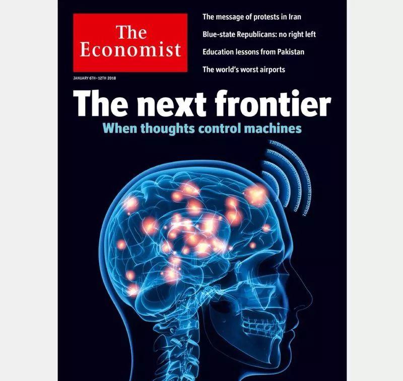 《经济学人》最新封面评前沿技术:脑机接口正等待远见者的到来
