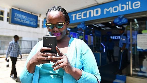 (传音手机在非洲市场,图源:界面)