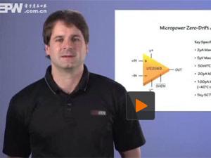 微功率零漂移放大器可改善电路性能