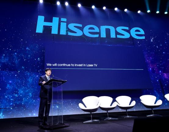 海信CES2018:激光电视让中国电视首次引领世界