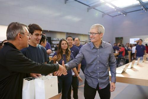 两张表看懂苹果财报:被唱衰的iPhone X依旧很赚钱