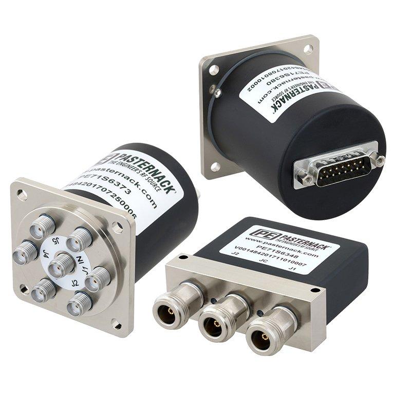 Pasternack推出一系列带D-SUB连接器的机电式开关新产品