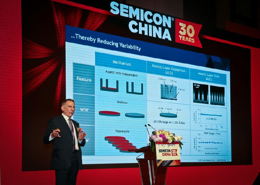 技术创新引领半导体行业新发展 泛林集团亮相SEMICON China 2018