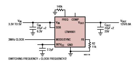ADI的μModule®完整电源解决方案