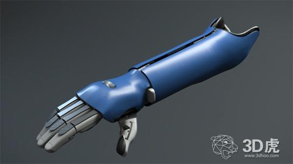全球首个获得医学认证的3D打印仿生手臂即将上市销售