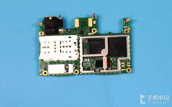 Lenovo S5主板背面
