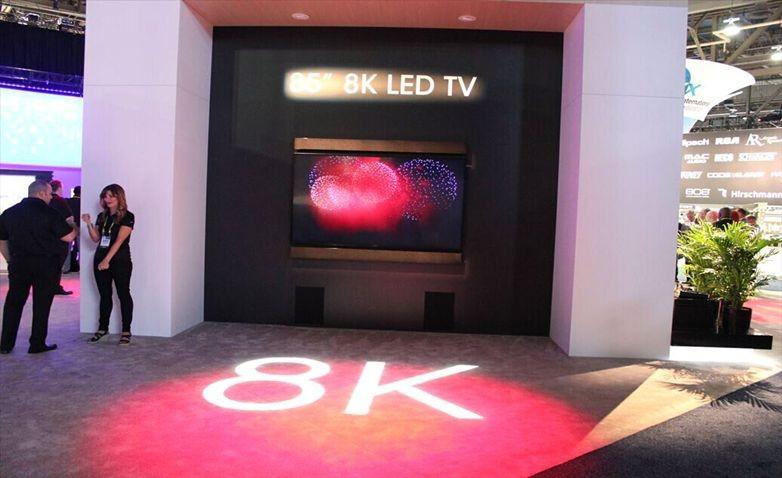 8K显示即将引爆市场 电视产业链或掀变革