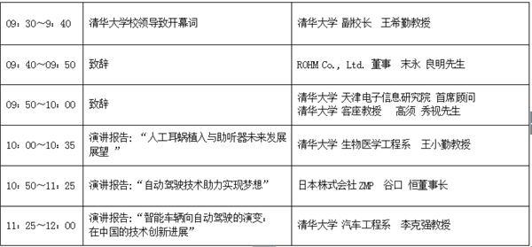 """清华大学与罗姆共同举办""""2018清华-罗姆国际产学连携论坛""""!"""