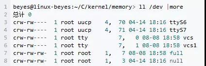 嵌入式Linux主设备号和次设备号详解
