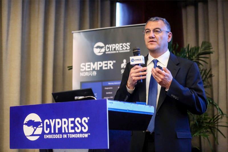 赛普拉斯推出全球领先的闪存解决方案,助力汽车及工业领域的关键安全应用