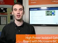 带Microsemi SiC模块的高功率隔离式栅极驱动器板