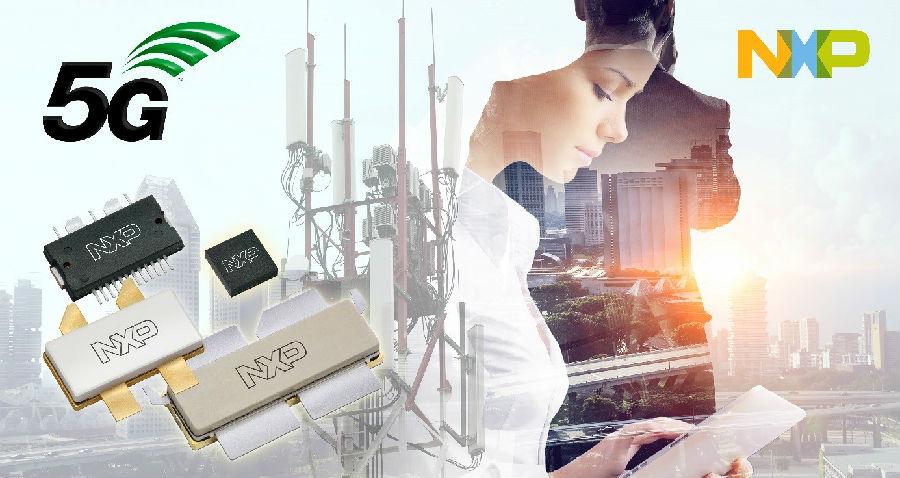 恩智浦推出适用于5G网络的全新高功率射频产品