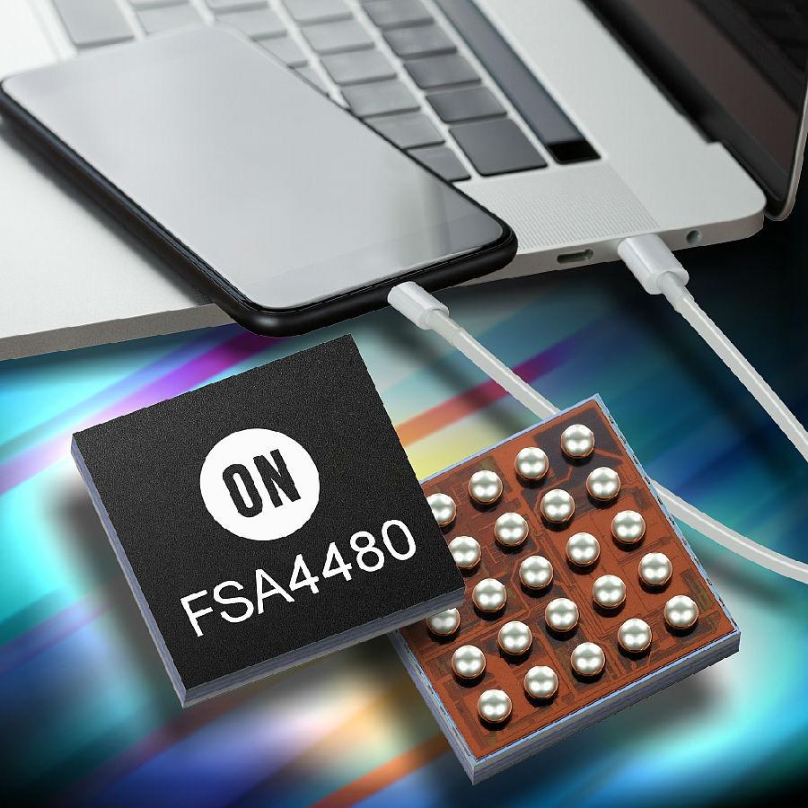 安森美半导体推出新的多媒体模拟音频开关 和高精度电流检测放大器用于USB-C应用