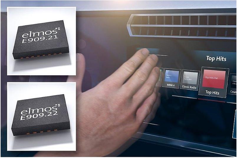 elmos推出基于HALIOS® 技术的车载手势识别解决方案