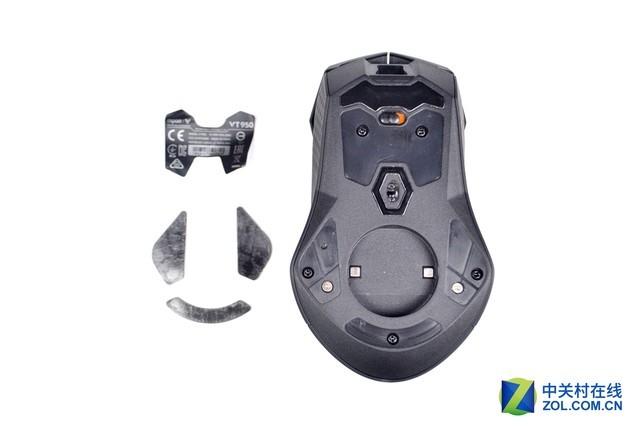 硬件豪华做工出色 雷柏VT950鼠标拆解