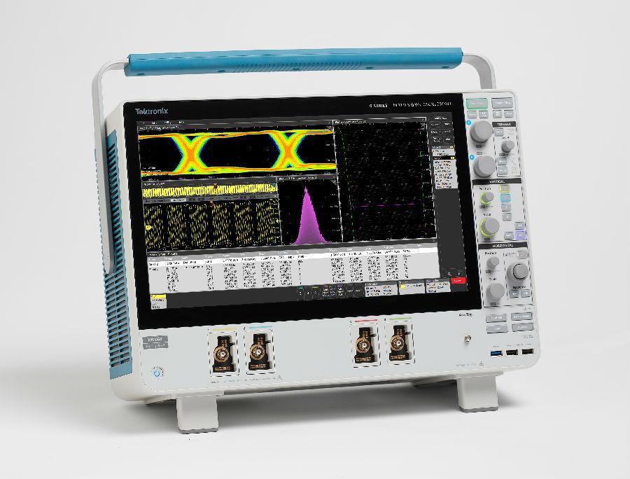 泰克推出6系列MSO混合信号示波器, 提供更高速度及超低噪声,提高测量信心