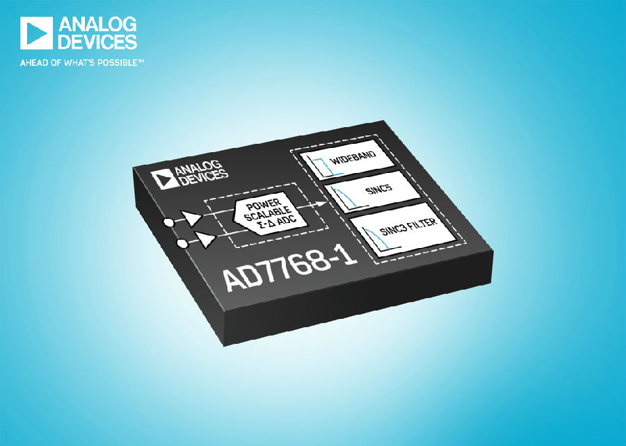 Σ-∆ ADC凭借单个可配置且可重复使用的数据采集封装实现 AC和 DC性能