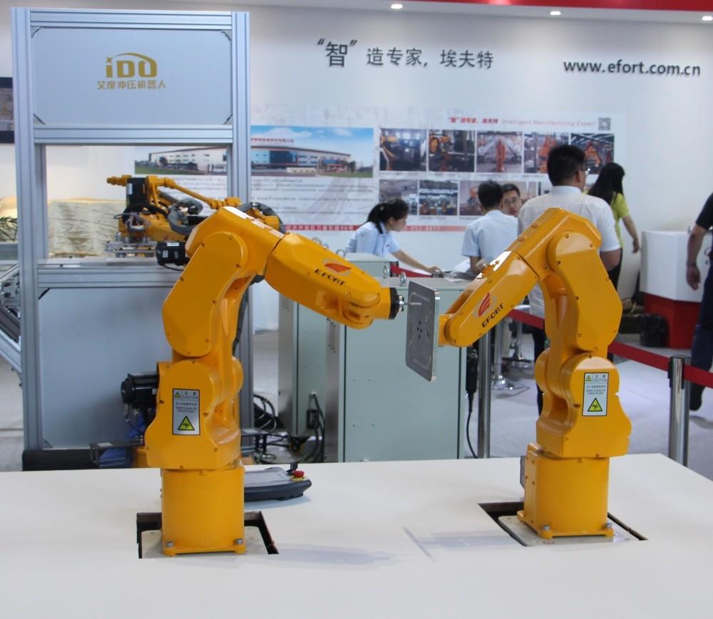 直击CIROS2018:中国机器人走向2.0时代