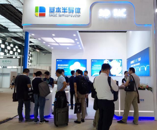 3D SiC技术闪耀全场,基本半导体参展PCIM Asia引关注