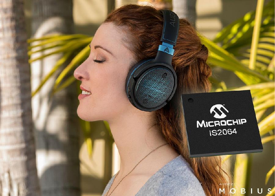 采用搭载索尼 LDAC™技术的全新Microchip蓝牙®音频SoC打造高清音频设备