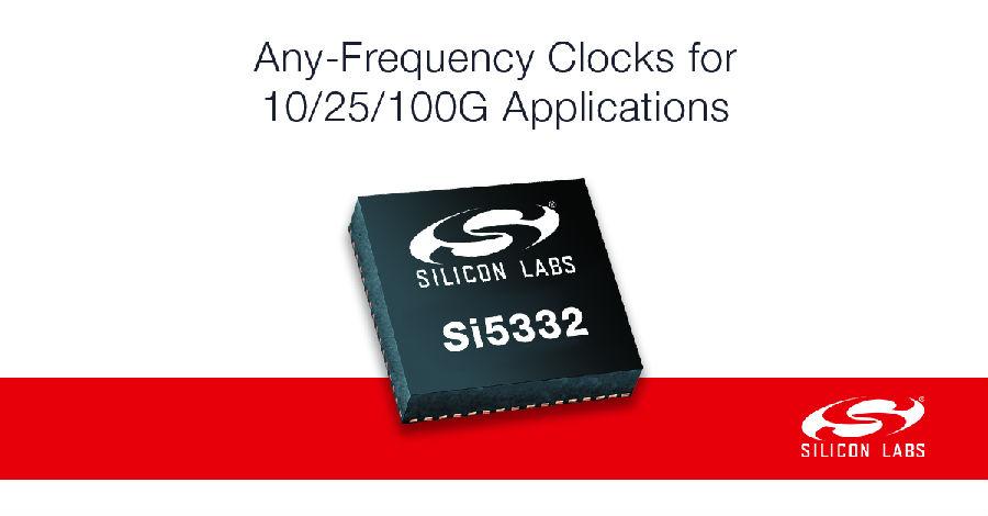 Silicon Labs Si5332产品系列替代时钟、振荡器、缓冲器和完整时钟树