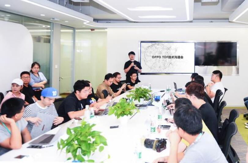 继3D结构光手机量产之后 OPPO宣布ToF技术进入商用