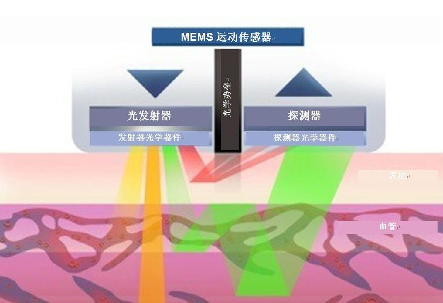 用于生物计量可穿戴设备的光学心率传感器