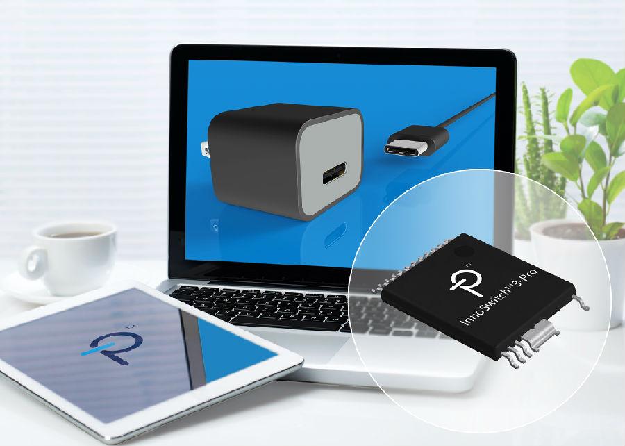 Power Integrations宣布采用InnoSwitch3 IC的適配器設計已成功通過USB PD標準認證