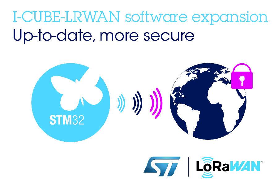 增强LoRaWAN使用体验,意法半导体升级免费嵌入式软件