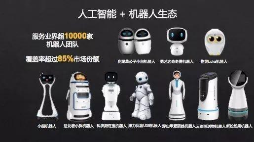 科大讯飞:85%的机器人制造商用我们的AI技术